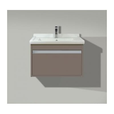 18.3 Wall Mount Vanity Base Finish: Basalt Matte