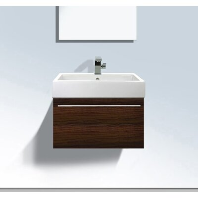 Vero 37 Single Bathroom Vanity Base Finish: Macassar
