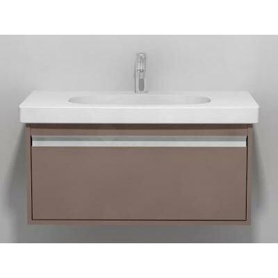 Ketho 32 Single Wall Mount Bathroom Vanity Set Base Finish: Graphite Matte