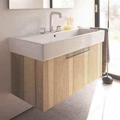 Vero 37 Single Bathroom Vanity Base Finish: Bleached Oak