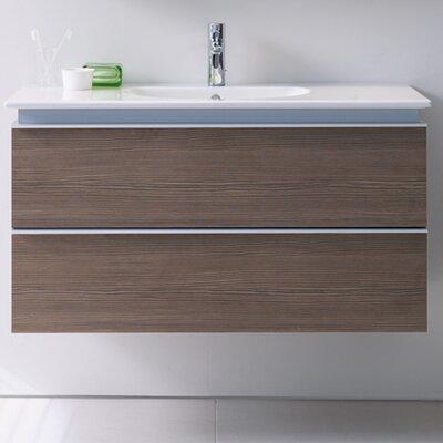 Darling New 39.38 Single Bathroom Vanity Base Color: Terra