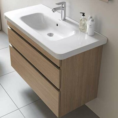 DuraStyle 28.75 Single Wall Mounted Vanity Base Base Finish: Eur Oak