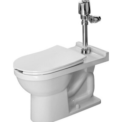 Starck 3 Floor Standing Verio Outlet 1.28 GPF Elongated One-Piece Toilet