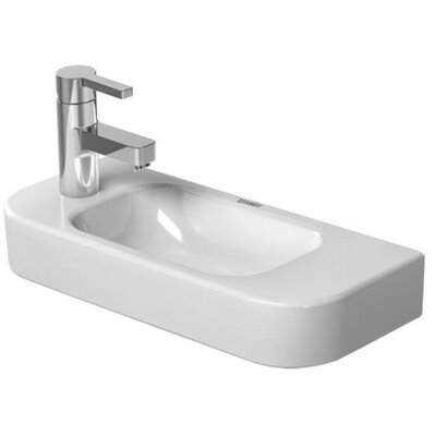 Happy D. Ceramic 20 Wall Mount Bathroom Sink