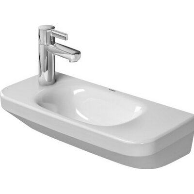 DuraStyle Ceramic 20 Wall Mount Bathroom Sink