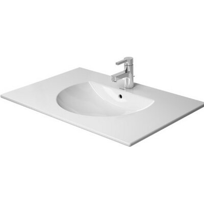 Darling New Ceramic 33 Wall Mount Bathroom Sink with Overflow