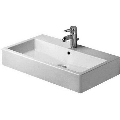 Vero 28 Wall Mount Bathroom Sink with Overflow
