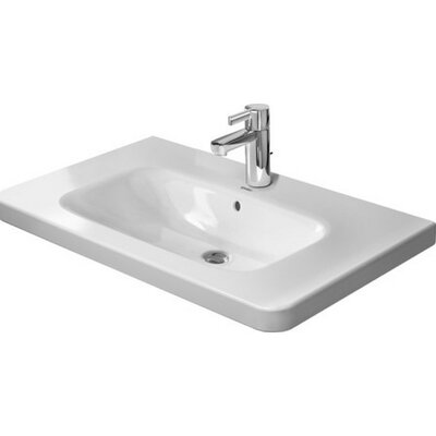 DuraStyle 32 Wall Mount Bathroom Sink with Overflow