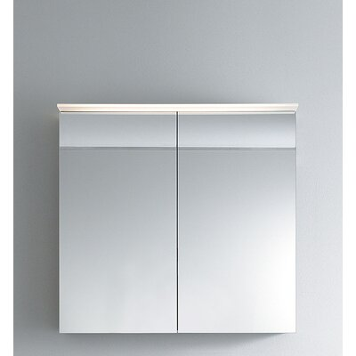 Delos 29.88 x 31.5 Surface Mount Medicine Cabinet with LED Lighting