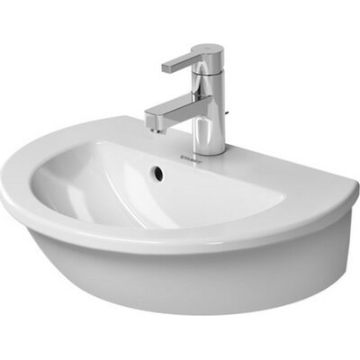 Darling New 19 Wall Mount Bathroom Sink with Overflow