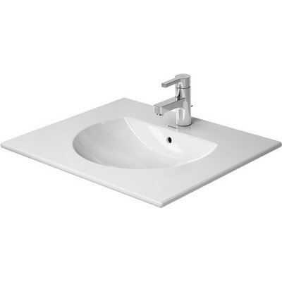 Darling New Ceramic 25 Wall Mount Bathroom Sink with Overflow