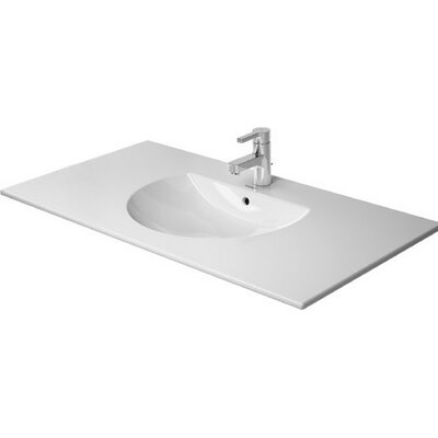 Darling New Ceramic 41 Wall Mount Bathroom Sink with Overflow