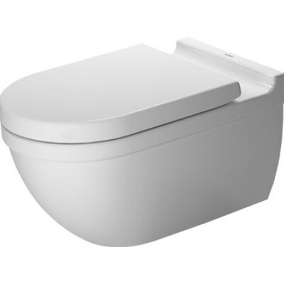 Starck Wall Mounted Durfix Washdown Dual Flush Elongated Toilet Bowl
