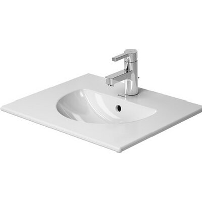 Darling New Ceramic 21 Wall Mount Bathroom Sink with Overflow