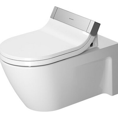 Starck Wall Mounted Washdown 1.6 GPF Elongated Toilet Bowl