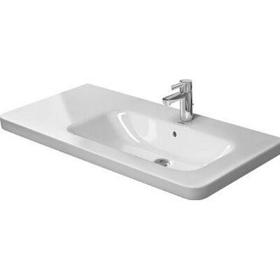 Durastyle 39 Wall Mount Bathroom Sink with Overflow