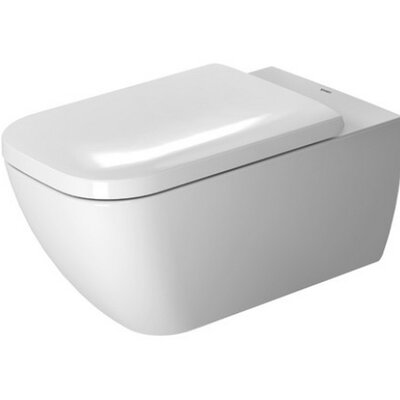 Happy D Dual Flush Elongated Toilet Bowl