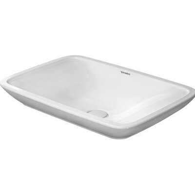 PuraVida Rectangular Vessel Bathroom Sink