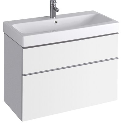 DuraStyle 28.75 Single Wall Mounted Vanity Base Base Finish: White Matt