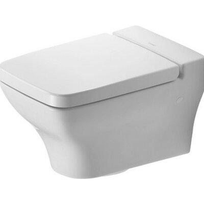 PuraVida Wall Mounted Washdown Dual Flush Elongated Toilet Bowl