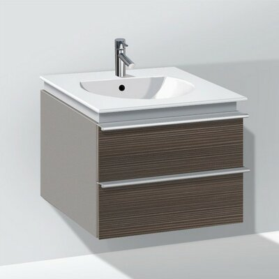 Darling New 23.63 Single Pine Vanity Set Finish: Terra