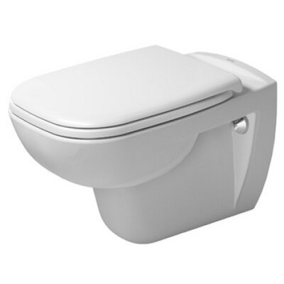 D-Code Wall Mounted Washdown Dual Flush Elongated Toilet Bowl