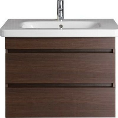 DuraStyle 28.75 Single Wall Mounted Vanity Base Base Finish: Dark Chestnut