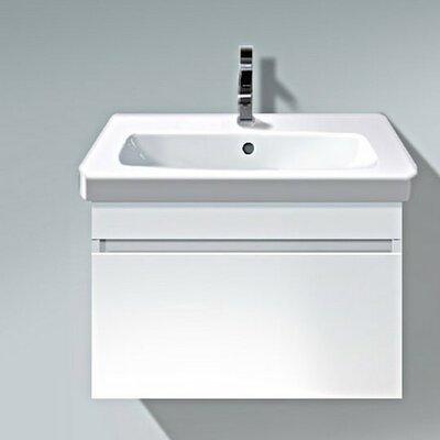 DuraStyle 23 Single Wall Mounted Vanity Base Base Finish: White Matt