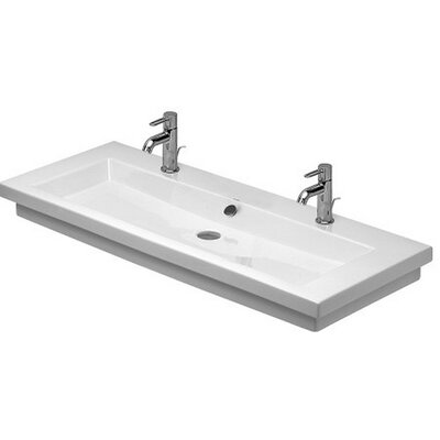2nd Floor 20 Wall Mount Bathroom Sink with Overflow