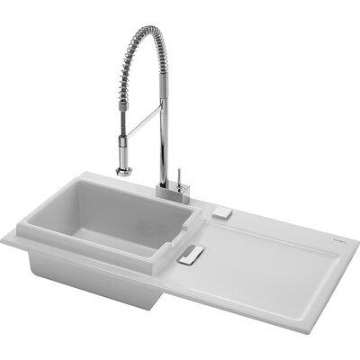 Buy Low Price Duravit Starck K Flush Mount Kitchen Sink with Left ...
