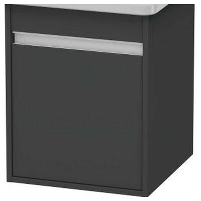 17.9 Bathroom Vanity Set Finish: Graphite Matte