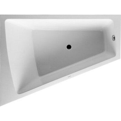 Paiova 70.87 x 55.12 Drop In Bathtub