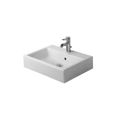 Vero 24 Console Bathroom Sink with Overflow