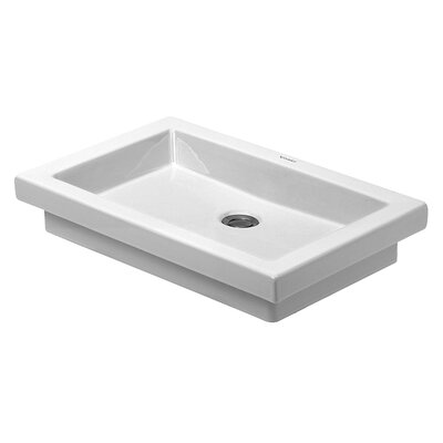 2nd Floor Above Counter Vanity Basin Rectangular Vessel Bathroom Sink