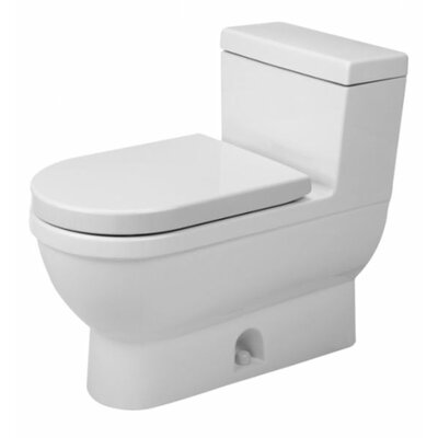 Starck 3 1.28 GPF Elongated One-Piece Toilet