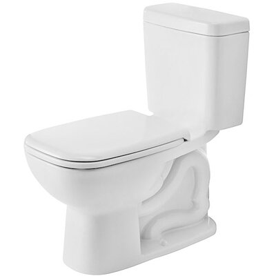 D-Code 1.28 GPF Elongated Two-Piece Toilet