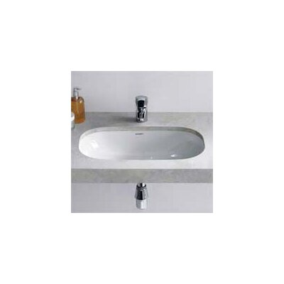 D-Code Oval Undermount Bathroom Sink