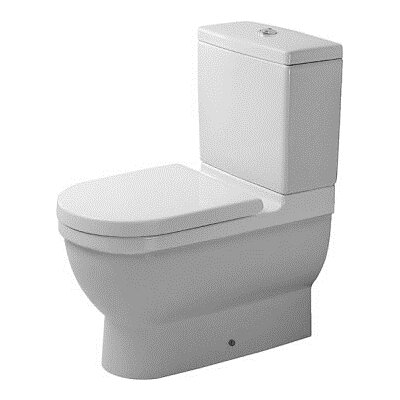 Starck 3 Elongated Two-Piece Toilet