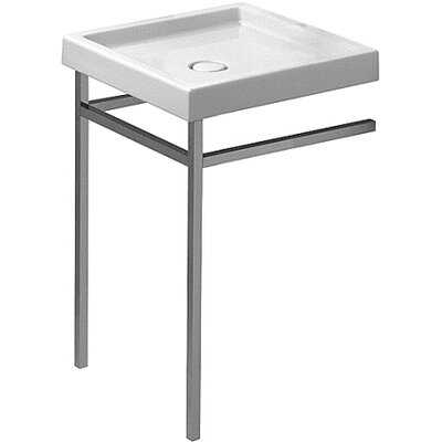 Starck 22 Console Bathroom Sink with Overflow