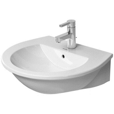 Darling New Ceramic 22 Pedestal Bathroom Sink with Overflow
