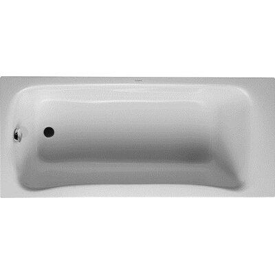 PuraVida 67 x 30 Soaking Bathtub Drain Location: Left