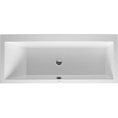 Vero 67 x 30 Soaking Bathtub Drain Location: Left
