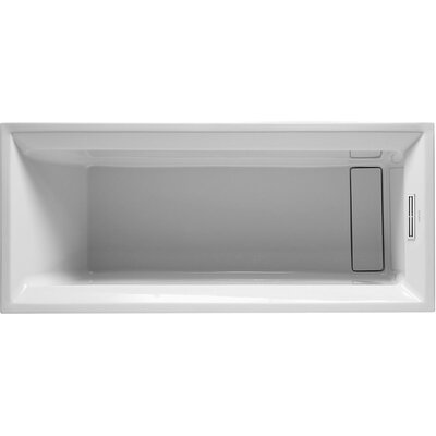 2nd 67 x 30 Floor Soaking Bathtub
