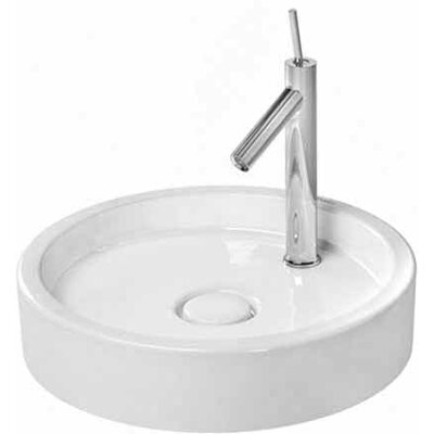 Starck 1 Circular Vessel Bathroom Sink
