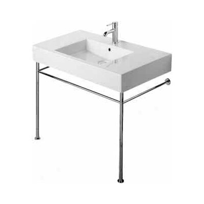 Vero 49 Console Bathroom Sink with Overflow