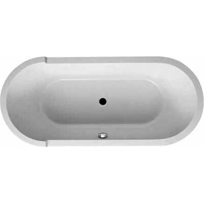 Starck 71 x 32 Oval Soaking Bathtub