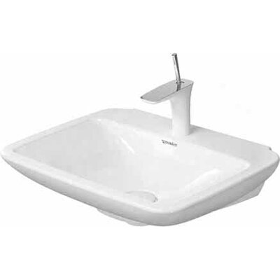 PuraVida Ceramic 24 Wall Mount Bathroom Sink