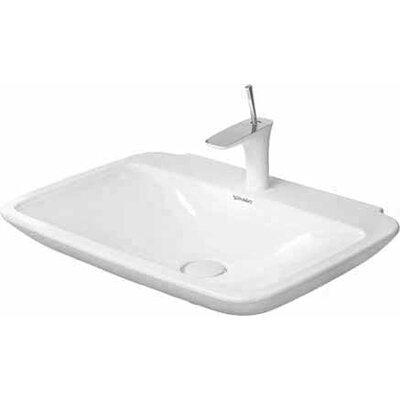 PuraVida Ceramic 28 Wall Mount Bathroom Sink