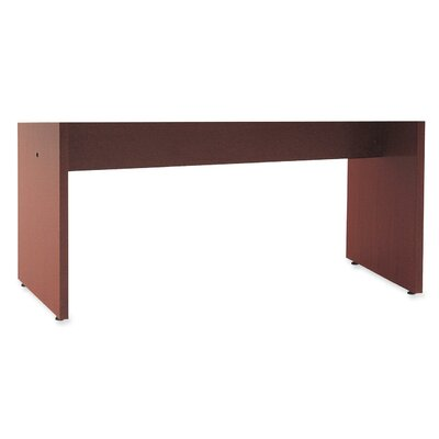 28 H x 40 W Desk Base Finish: Mahogany