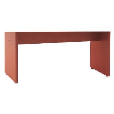 28 H x 40 W Desk Base Finish: Cherry